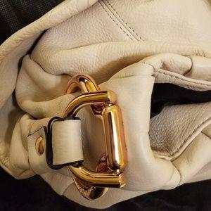 B. Makowsky Tan/Bone small purse
